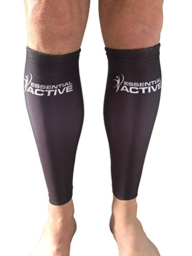 Calf Compression Sleeves For Men & Women: Relieve Shin Splints, Pain in Calves. Boost Circulation, Aid Recovery. For Runners Nurses Maternity Pregnancy Varicose Veins Flight Travel. FREE Ebook