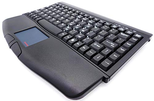 SolidTek Mini Keyboard with Touchpad USB Interface Black KB-540BU (ACK-540U)