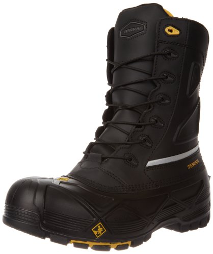Kodiak Steel Toe Shoes - Terra Men's Crossbow Industrial & Construction Shoe, Black, 10 M US
