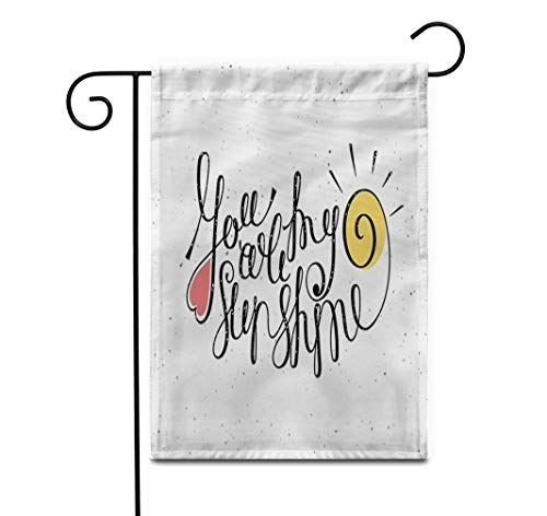 Amazon.com: Awowee - Bandera de jardín de 12.0 x 18.0 in ...