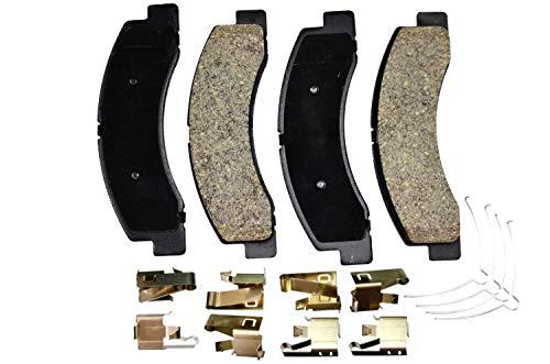 PT Auto Warehouse PT756 - Ceramic Disc Brake Pad Set - Front