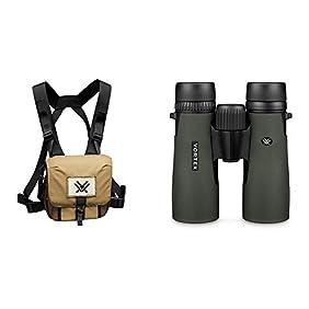 Vortex Optics New Diamondback 10x42 Roof Prism Binoculars (D205) w/ Vortex Optics GlassPak Binocular Harness Case