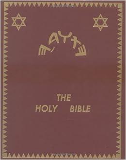 The Holy Bible Ancient Hebrew Torah Neil L Harvey