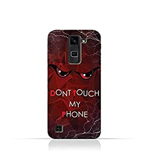 LG Stylus 2 TPU Silicone Case With Don't Touch My Phone 3 Design
