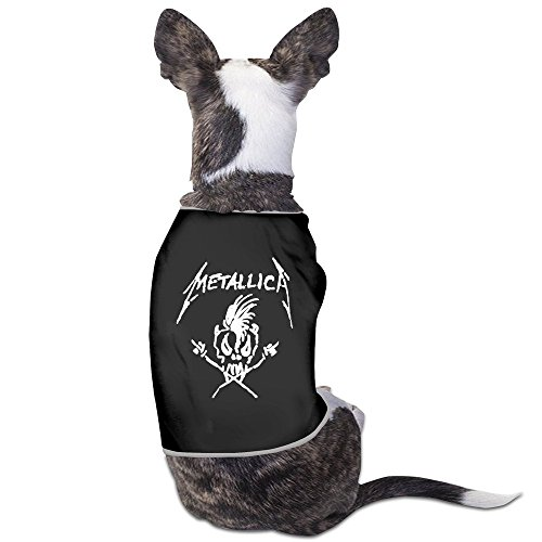 [METALLICA Skull And Crossbones Dog Costume Lovely ColoName] (80s Movies Costumes)
