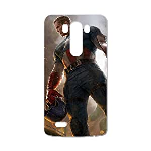 Custom Captain America Desgin High Quality Case Cover Fashion Style for LG G3