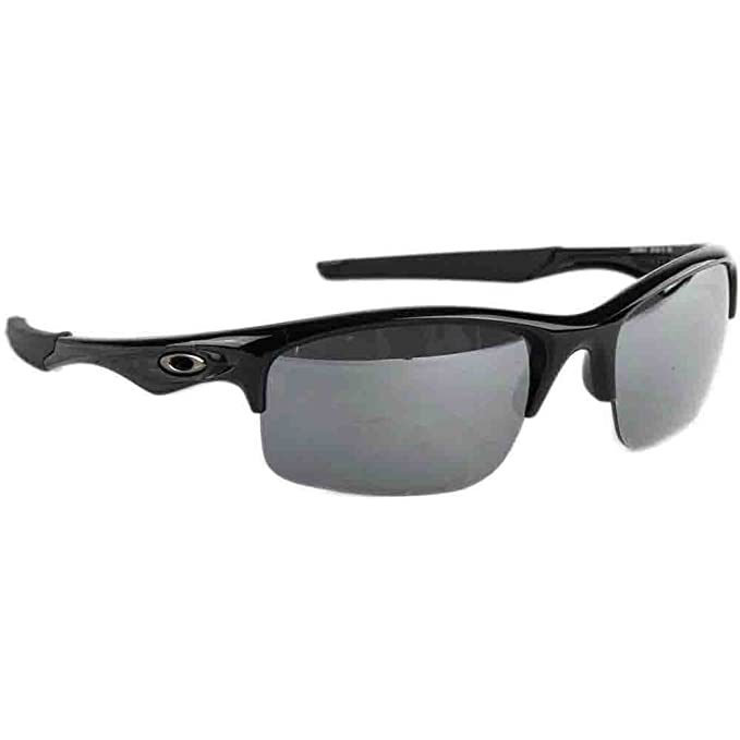 a3bbcc07b5 Oakley Men s Polarized Bottle Rocket OO9164-01 Black Wrap Sunglasses ...