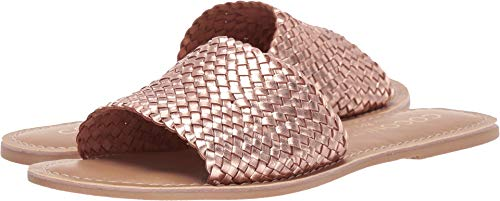 Matisse Women's Zuma Woven Sandal Rose Gold 9 M US