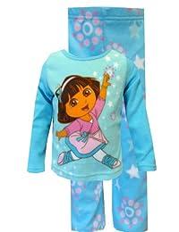 Dora the Explorer Pretty Ballerina Blue Pajama Set for girls (18 mo)