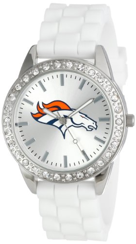 Game Time Women's NFL-FRO-DEN Frost Watch - Denver (Denver Broncos Ladies Watch)