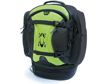 Amphipod Race-Lite Transition Pack Runners Backpack Marathon - Black / Green by Amphipod