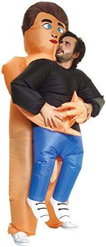 Morph Divertido Disfraz Inflable Chico desnudo Adultos - Una talla ...