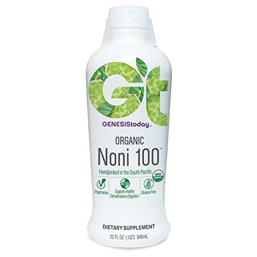 Genesis Today, Organic Noni 100, 16 -