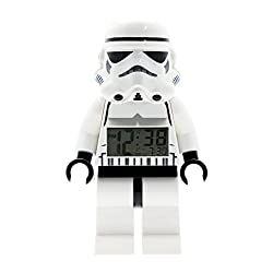 LEGO Star Wars Stormtrooper Figurine Alarm Clock (9002137)