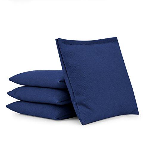 Cornhole Bags (Set of 4):: Choose Your Colors (Royal Blue)