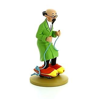 Figurine de collection Tintin Tournesol patins à moteur Moulinsart 42197 (2016)