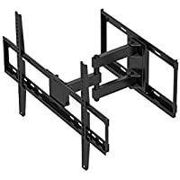 Monoprice Titan Series Full-Motion Articulating TV Wall Mount Bracket - For TVs Up to 70in Max Weight 77lbs VESA Patterns Up to 600x400 Rotating
