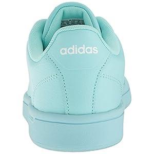 adidas Women's Shoes | Cloudfoam Advantage Clean Fashion Sneakers, Clear Aqua/Clear Aqua/White, (9 M US)