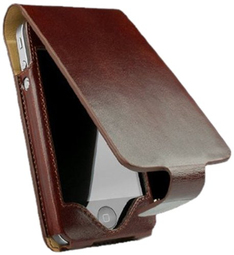 Sena Hampton Flip Leather Case for iPhone 4 / 4S