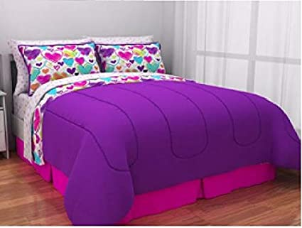 Amazoncom Latitude Teen Reversible Bright Pink Purple White
