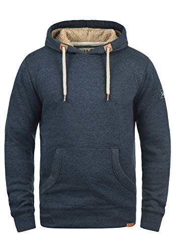 Insignia Triphood futter Teddy Doublure Homme Blue Pour Mit Capuche À Pull Sweat Hoodie solid Polaire AvxTv
