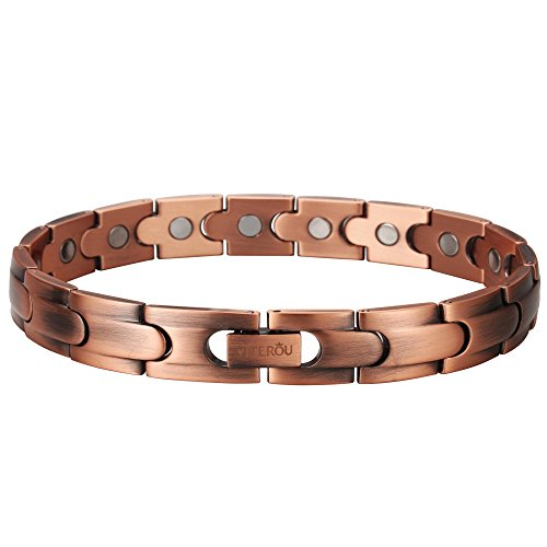 VITEROU-Magnetic-Solid-Pure-Copper-Therapy-Bracelet-for-Arthritis-for-Men-and-Women3500-Gauss