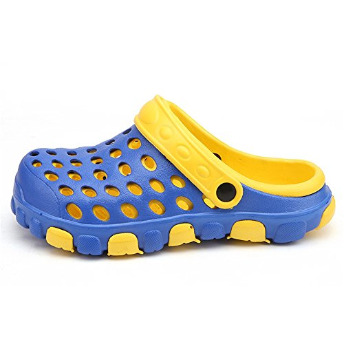 impermeabili uomo e sandali Verde Blu shoes Dimensione 2018 piatto tacco da EU Mens spiaggia Color su da Ciabattine con caviglie Ciabatte piatte 43 Ifnapv