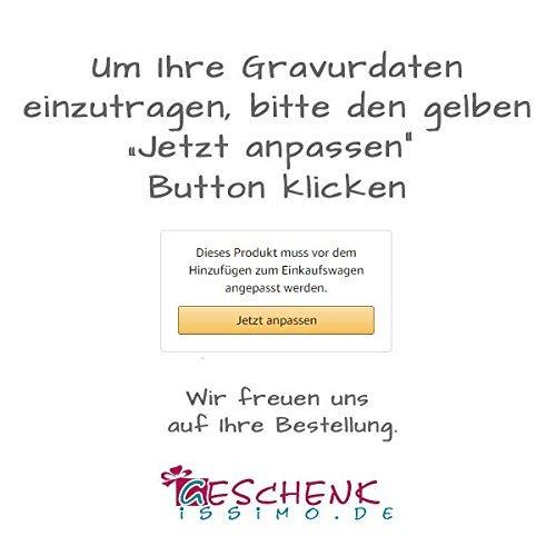 """personalisiert mit Namen Holzdose /""""Meine erste Locke/"""" als Geschenk f/ür M/ädchen und Jungen Lockendose mit Gravur"""
