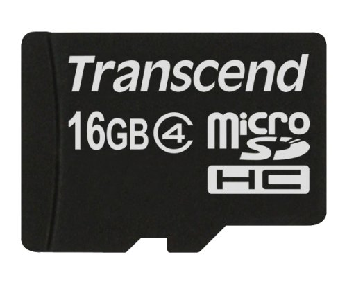 Transcend Memory Card Micro SDHC 16  GB Class 4