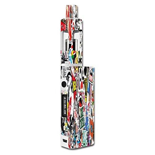 Kanger Subox Mini Kit Vape E-Cig Mod Box Vinyl DECAL STICKER Skin Wrap / Sticker Bomb (Kanger Vaporizer Kit compare prices)
