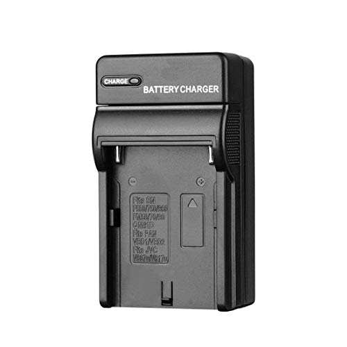 (YUOCU Travel Camera Battery Charger Compatible for Sony NP-F550,NP-F750,F975,NP-F960,NP-FF970, NP-F330,NP-F530,CCD-SC55,CCD-RV100,NP-FM50,NP-FM70,NP-FM90,QM71D,91D,NP-F500H/F55H Battery)