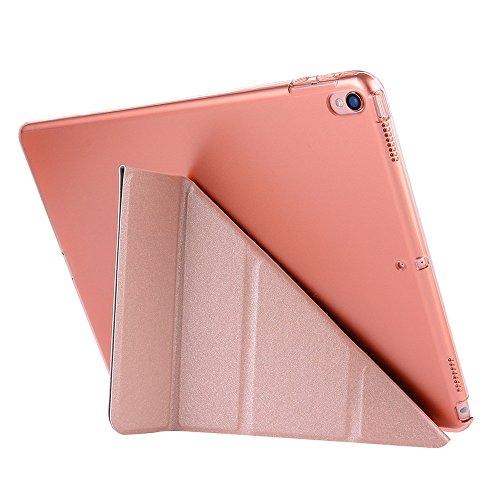 iPad Fall, happytop faltbar Magnetic Case leicht cover für iPad Pro 26,7cm 2017 rose gold