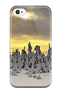 New Style 4065809K61093961 New Arrival Premium 4/4s Case Cover For Iphone (winter)