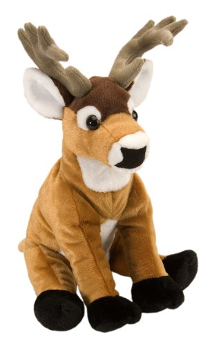Wild Republic White-Tailed Buck Plush, Stuffed Animal, Plush