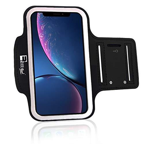 RevereSport iPhone XR Sportarmband. Armband Telefon Handyhalter Case für Laufen, Workout, Joggen und Fitness