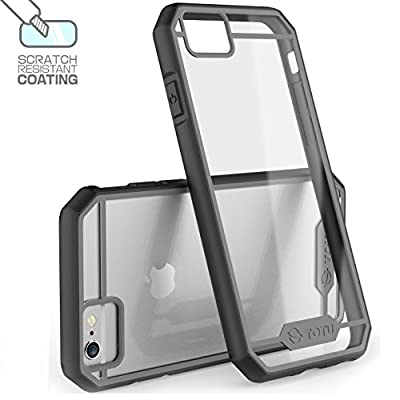 iPhone 6 Plus Case'TOTU®?Scratch Resistant? Slim Clear Back Panel ?Guardian Series?Shock-Dispersion Technology Transparent Hybrid Bumper Cover Fit For iPhone6 5.5 ??Retail Packaging ?'?Lifetime Warranty?