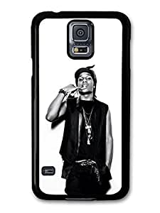 AMAF ? Accessories ASAP Rocky Black and White Portrait Showing Teeth case for Samsung Galaxy S5 wangjiang maoyi by lolosakes