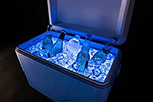 Brightz, Ltd. Cooler Brightz LED Light Cooler Accessory, Blue