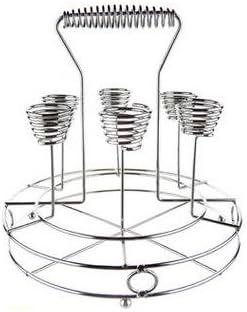 DXW Porta vasos de agua, portavasos de cocina, Porta vasos de acero ...