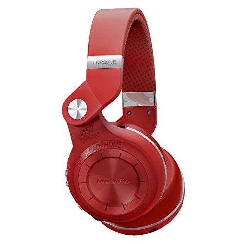 Click to buy Beteran Bluedio T2 (Turbine 2 Shooting Brake) Bluetooth V4.1+EDR Noise Cancelling Stereo headphones Wireless Bluetooth 4.1 headset Hurrican Series over the Ear Headphone Earphone Headset For iPhone Samsung HTC Sony Blackberry (Red) - From only $41.03