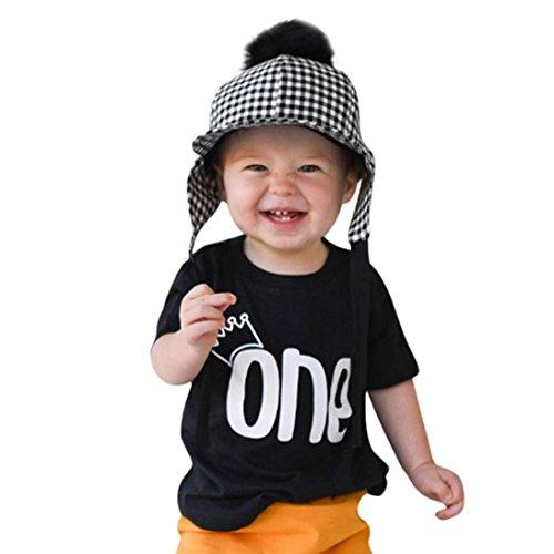 1813191ec761 En venta PAOLIAN Ropa para Niños Babe para Verano Manga corta Camisetas de  Impresion de Alfabeto de 1 años 3 años 6 años 9 años - www.nbyshop.top