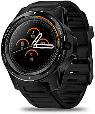 FYK&&SW Reloj Inteligente Smartwatch híbrido de Sistema Dual ...