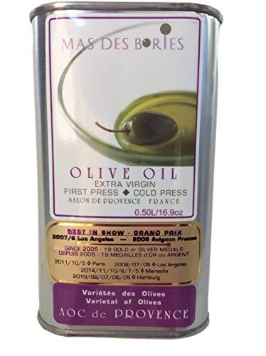 Mas Des Bories AOC de Provence France 100% Extra Virgin Olive Oil (0.50 L)