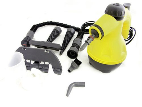 Handheld Portable Steam Cleaner 8 Attachments 1200 Watt steamer New