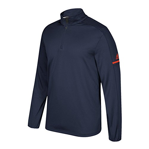 cheap price store really for sale adidas Game Built Long Sleeve Quarter Collegiate Navy-collegiate Orange real sale online 3UMqfP