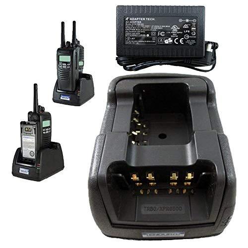 Power Products Dual Slot Charger for Motorola XTS2500 XTS5000 XTS3000 PR1500 MT1500 and XTS1500 Two Way Radios