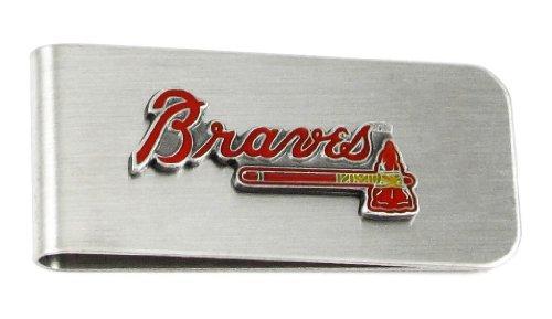 Siskiyou MLB Atlanta Braves Steel Money Clip