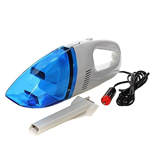 12V Portable Mini Wet Dry Vacuum Cleaner for Car Truck SUV Desktop Dustbuster Crumbs Cleaner