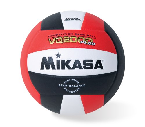 (Mikasa Micro Cell Volleyball (Red/ White/Black))