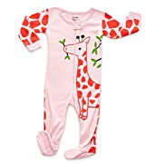 Footed Full Giraffe Pajama Sleeper 6-12 M